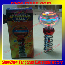 2014 New Hot selling shenzhen magic led spinning light up sphere glow stick