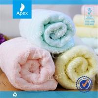 Hot sale thicken bamboo fiber fabric face towel