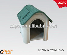 cat kennel with window plastic doggy cat house