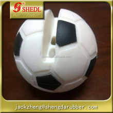 Newest Design Football Shape Voice Changing Megaphoe Silicone Microphone for Iphone