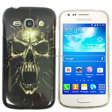 Factory Wholesale Personality Design Soft TPU Skull Case for samsung galaxy ace 3 S7270