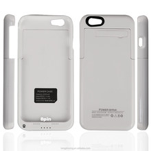 fashion-designed detachable mobile power bank ,external backup battery case 3200mah battery case for iphone 6