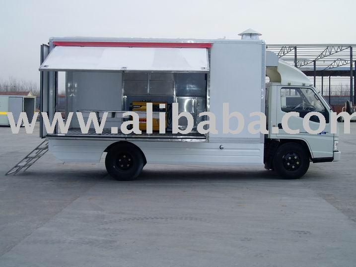 Móvil catering camión, comida rápida truck