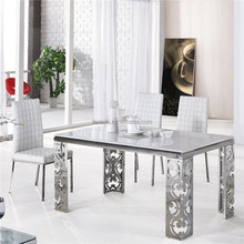 "59"" New Modern Marble Top Dining Table"