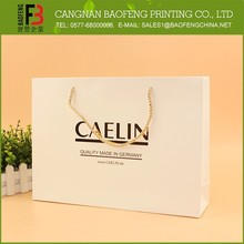 Reusable Recyclable Promotional Paper Shopping Bag