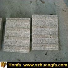 chinese g682 granite blind paving stone, yellow granite anti slip tiles for sale