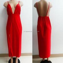 elegant long backless woman evening celebrity dress