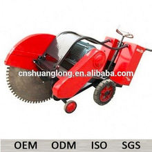 1000mm blade electric walk behind concrete cutting saw machine with spare parts