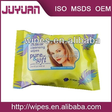Professional makeup cleaning wet wipes OEM all make up remover wipes non alcohol wet wipe