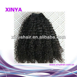2013 Most popular kinky curl hair myanmar hair extension for black woman