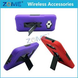2015 New Products With Vertical Stand Hybrid Phone Case For Samsung G530