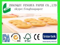 factory supply !!! silicone greaseproof Baking Paper