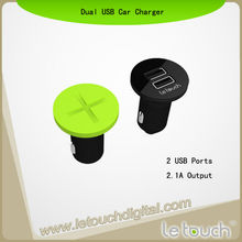 Creative Car Charger Dual USB Car Charger For iPhone