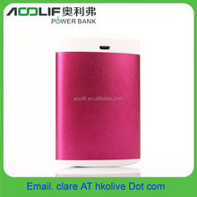 New Design electric pocket warmer with build in rechargeable battery