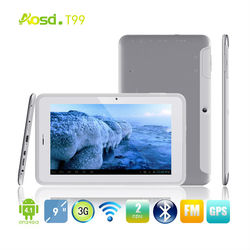 Hot sale! MTK8377 3G pocket tablet pc Android Phone 1024x600 Android 4.1 Cortex A9 Dual Core Tablet PC T99