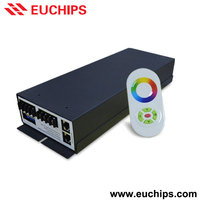 Shanghai Euchips factory direct price RF control 350W 175-264VAC 5A constant voltage dimmable RGB 3 channel dmx led controller