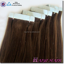 Free Package Cheap Double Drawn Virgin Wholesale Tape Hair Extension Skin Weft