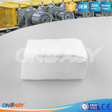 reusable clean room for industrial cleaning cloth fabric