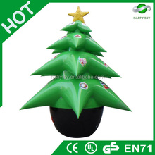 2015 Brand New Design Hot sale inflatable christmas tree, inflatable rudolph christmas party decoration, White christmas