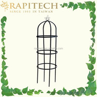 Garden Decorative Black Tomato Tower Obelisk