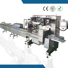 high performance automatic flow wrap machine for wrapping chocolate