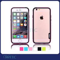 Hottest Fashion Dot Anti Slide PC+TPU For iPhone 6 Bumper Case