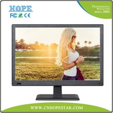 """low voltage 18.5"""" computer lcd monitor 12v with tv"""