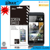 Moblie phone anti-glare screen protector for HTC ONE M7 oem/odm(High clear)