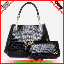 suppliers wholesale women high quality classical 2pcs hand bags