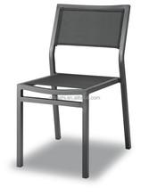 aluminum outdoor sling garden side chair