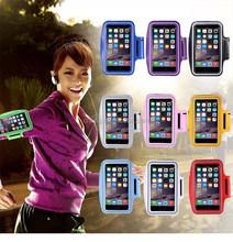 Luxury Dirt-resistant Flip Keyway Waterproof Clear Case Arm band For Iphone 6