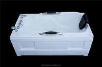 2016 factory produced directly newly design popular acrylic massage bathtub