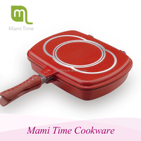 2015 most popular mami time happy call double pan for korea style