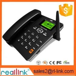 2014 new desktop sim card cordless fixed gsm phone