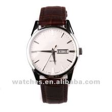 High quality water resistant name brand wrist watch with date,weekday