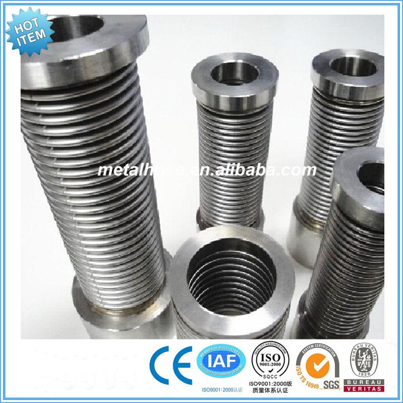 Vacuum metal welded bellows stainless steel welding