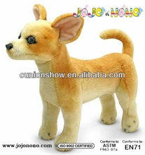 plush dog toy with long legs