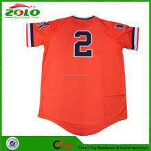 2015 Cheap Men's Cool Dry Custom Dye Sublimation Softball Jersey