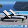 outdoor furniture sofa bed beach sun lounger in hot weather