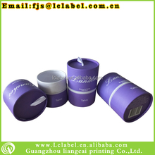 Innovative design of cosmetic cardboard tubes cardboard tube cardboard packaging tube with ribbion