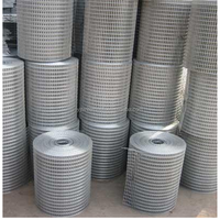 high quality zinc coating Hot dipped galvanized hardware cloth / galvanized welded wire mesh exported to south africa