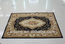 High density Polypropylene material beautiful fashion carpet and mat and rug