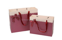 New cheap high quality gift paper bags for christmas