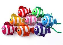 Tropical fish environmental Shopping bag colorful colors Eco reusable folding handle bag