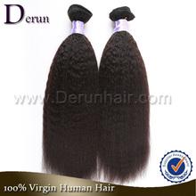 Fashion 2015 Brazilian Hair Wholesale Virgin Hair Supplier Yaki Perm Human Hair