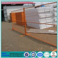 Galvanized canada removable metal welded temporary fence panel