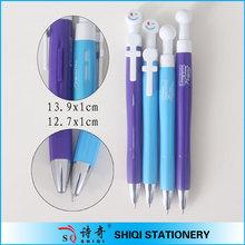 Promotional plastic Couple lover pen