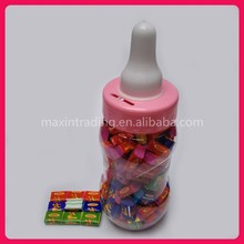 3g Tattoo Bubble Gum in Feeding Bottle