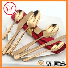 Rose gold cutlery, copper cutlery, brass cutlery