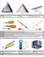 Anvil, Stake, Abrasive, And Sand Bag Jewelry Tools
